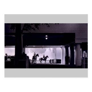 Dawn at Saratoga Springs, 1963 Postcard