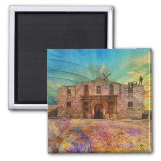 Dawn At The Alamo Fridge Magnets