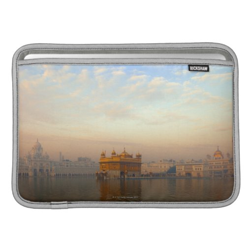 Dawn at the Golden Temple MacBook Air Sleeves