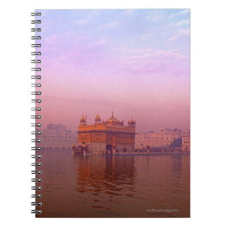 Dawn at The Golden Temple Note Books
