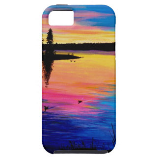 Dawn at the Lake iPhone SE/5/5s Case