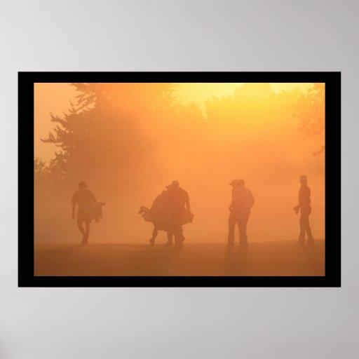 Dawn at the PGA Fine Art Print