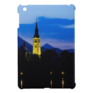 Dawn breaks over Lake Bled Cover For The iPad Mini