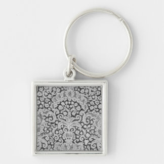 Dawn, Brussels, c.1725-1730 Silver-Colored Square Keychain