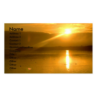 Dawn | Double-Sided standard business cards (Pack of 100)