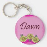Dawn Daisy Keychain