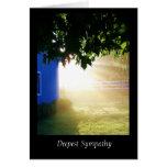 Dawn Deepest Sympathy Card