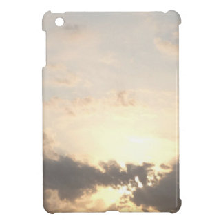 Dawn dusk sky landscape with clouds nature photo cover for the iPad mini