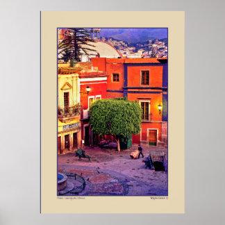 Dawn - Guanajuato, Mexico Poster