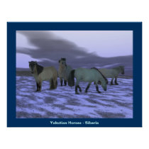 Dawn Horse Poster