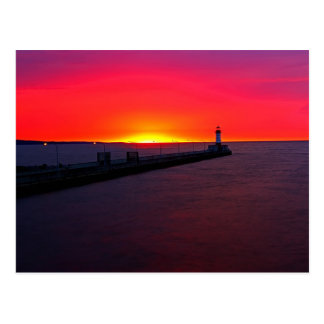 Dawn in Duluth Postcard