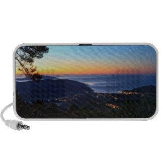 dawn in Elba island iPod Speaker