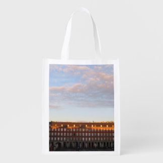 Dawn in Madrid Reusable Grocery Bag