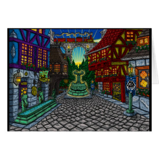 Dawn in Thorsville - Greeting Card