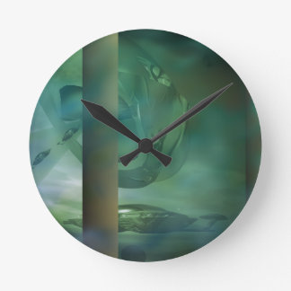 Dawn Invasion Round Clock