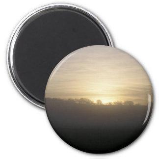 Dawn Light 2 Inch Round Magnet