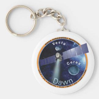 Dawn Mission Patch  Keychain