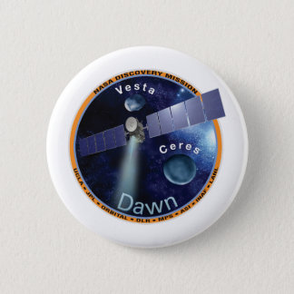 Dawn Mission Patch  Pinback Button