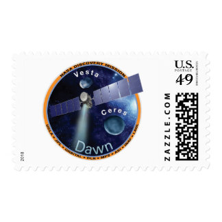 Dawn Mission Patch  Postage