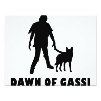 dawn of gassi hund card