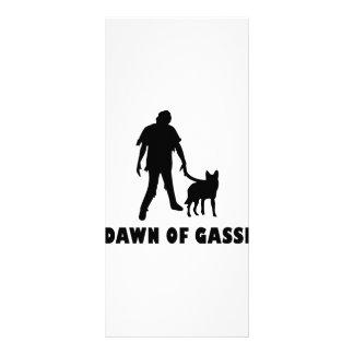 dawn of gassi hund rack card