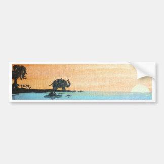 Dawn Of Peace_ElephantOfferingPrayers_AnjaliSanghi Bumper Sticker