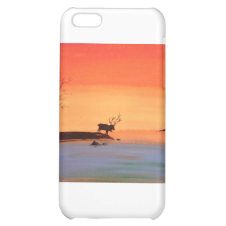 Dawn of Peace_Reindeer_Anjali Sanghi iPhone 5C Cover