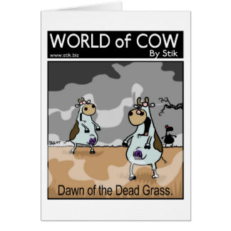 Dawn of the Dead Grass Greeting Card