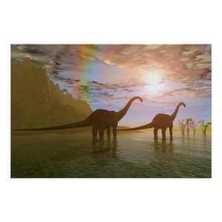 DAWN OF THE DINOSAURS PRINT