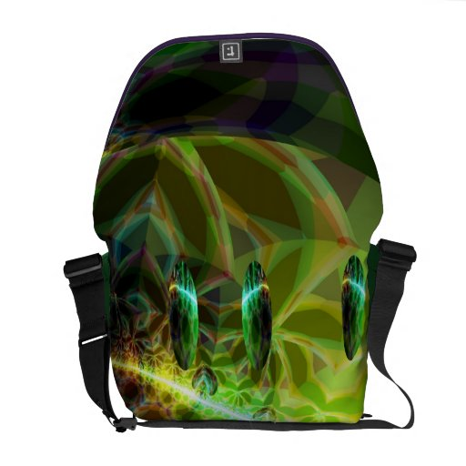 Dawn of Time – Green & Gold Emerge Commuter Bag