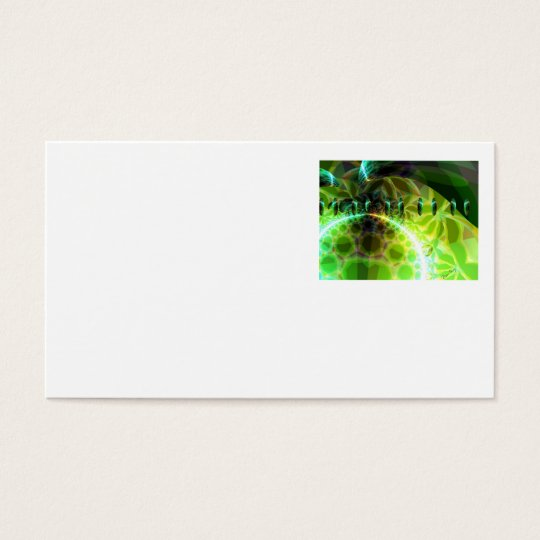 Dawn of Time – Lime & Gold Emerge Business Card