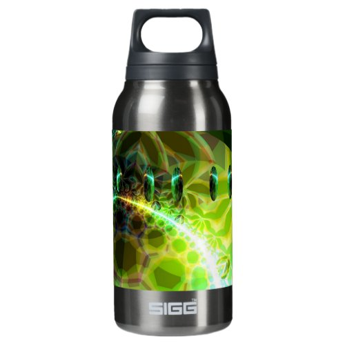 Dawn of Time – Lime &amp&#x3B; Gold Emerge Insulated Water Bottle