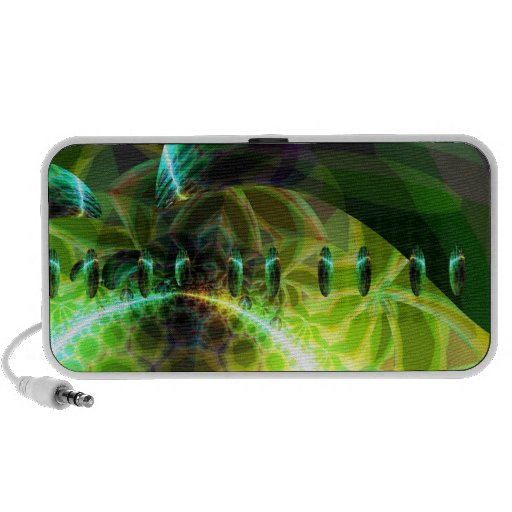 Dawn of Time – Lime & Gold Emerge iPod Speakers