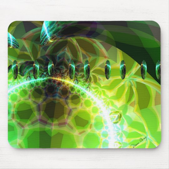 Dawn of Time – Lime & Gold Emerge Mouse Pad