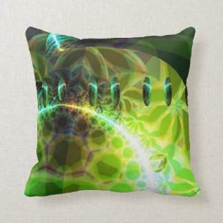Dawn of Time – Lime & Gold Emerge Pillows