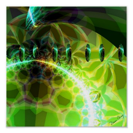 Dawn of Time – Lime & Gold Emerge Poster