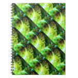 Dawn of Time – Lime & Gold Emerge Spiral Notebook
