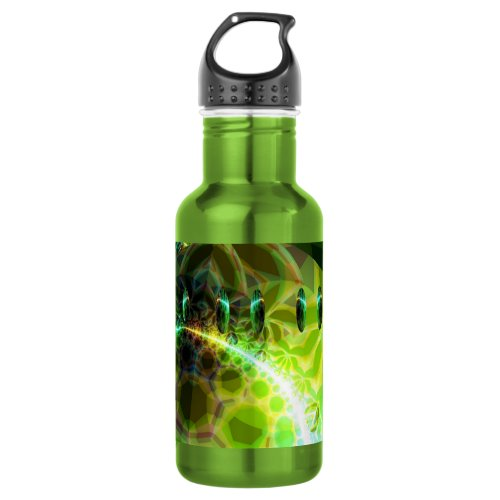 Dawn of Time – Lime & Gold Emerge Stainless Steel Water Bottle