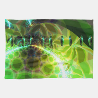 Dawn of Time – Lime & Gold Emerge Towel