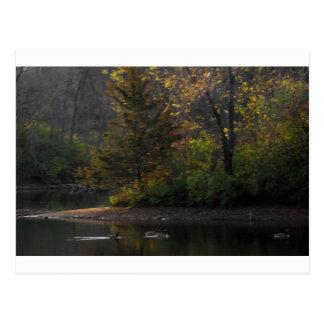 Dawn on Horton Lake, Nauvoo Postcard
