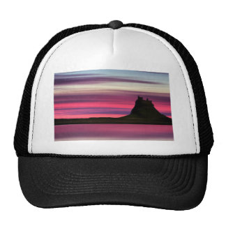 Dawn over Holy Island Trucker Hat