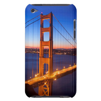 Dawn over San Francisco and Golden Gate Bridge. Case-Mate iPod Touch Case