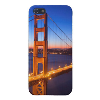 Dawn over San Francisco and Golden Gate Bridge. Covers For iPhone 5