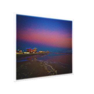 Dawn over the Daytona Beach Coast Line Canvas Print