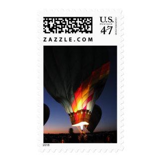 Dawn Patrol at Balloon Festival Stamp