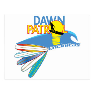 Dawn Patrol Encinitas Postcard