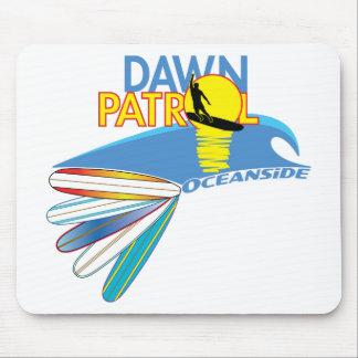 Dawn Patrol Oceanside Mouse Pad