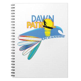 Dawn Patrol Oceanside Notebooks