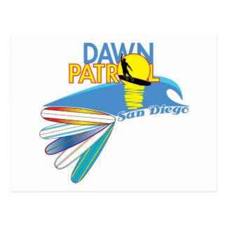 Dawn Patrol San Diego Postcard
