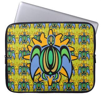 Dawn Turtle Laptop Sleeve